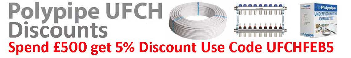 5% Discount off When you spend £500: Use code UFCHFEB5