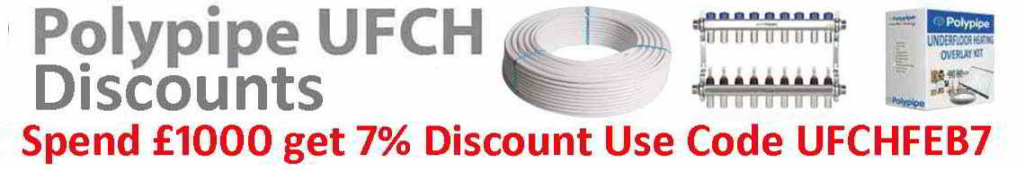 7% Discount off When you spend £1000: Use code UFCHFEB7