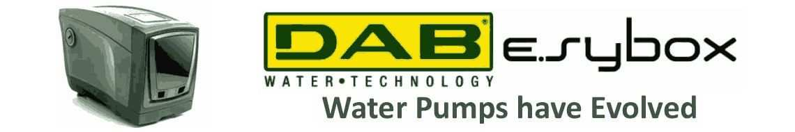 DAB Pumps E.sybox Promotion