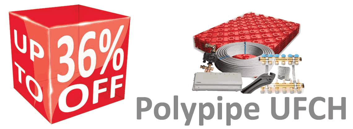 Polyplumb Underfloor Heating Promotion