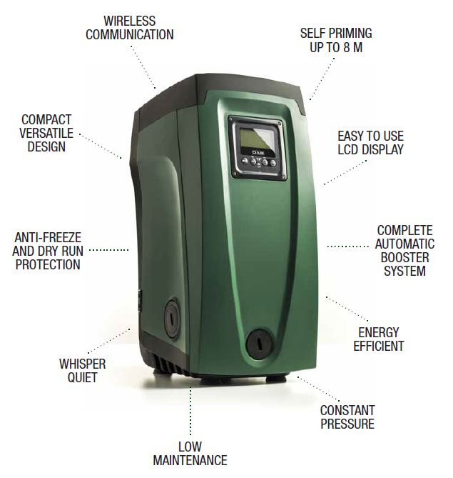 DAB e.sybox Electronic Water Pressurisation System 230v