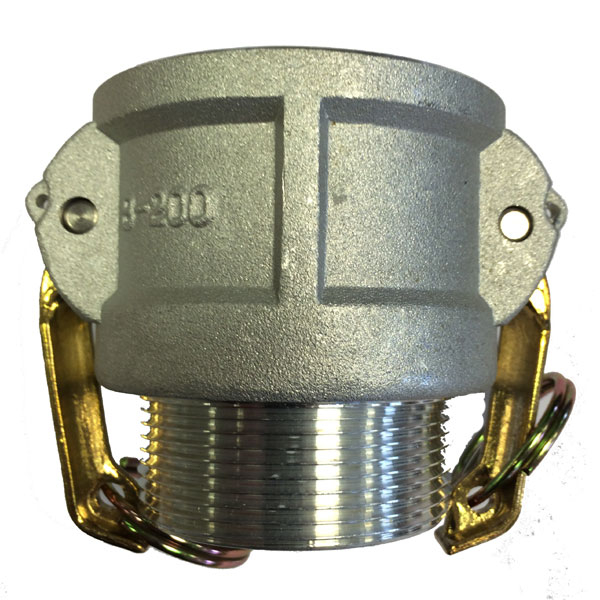 Snaplock Coupling B Coupler Male Thread BSP Aluminium