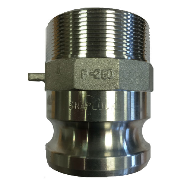Snaplock Coupling F Adaptor Male Thread BSP Aluminium