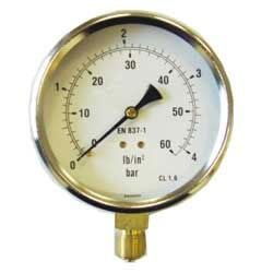 Pressure Gauges 100mm 4...