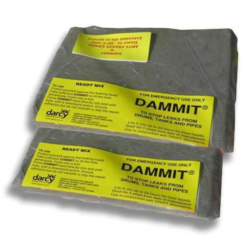 Darcy Dammit Emergency Clay Drain Mats