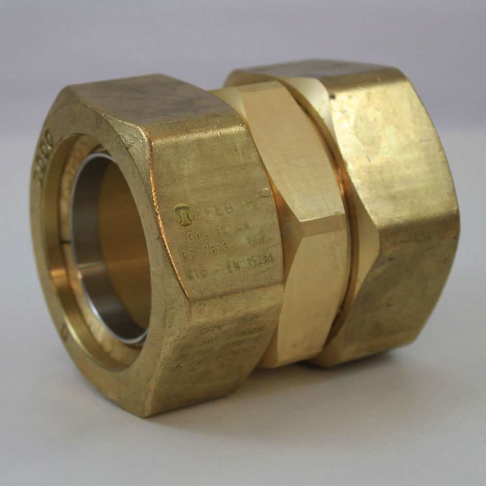 Tracpipe Gas Pipe Straight Coupling Fittings