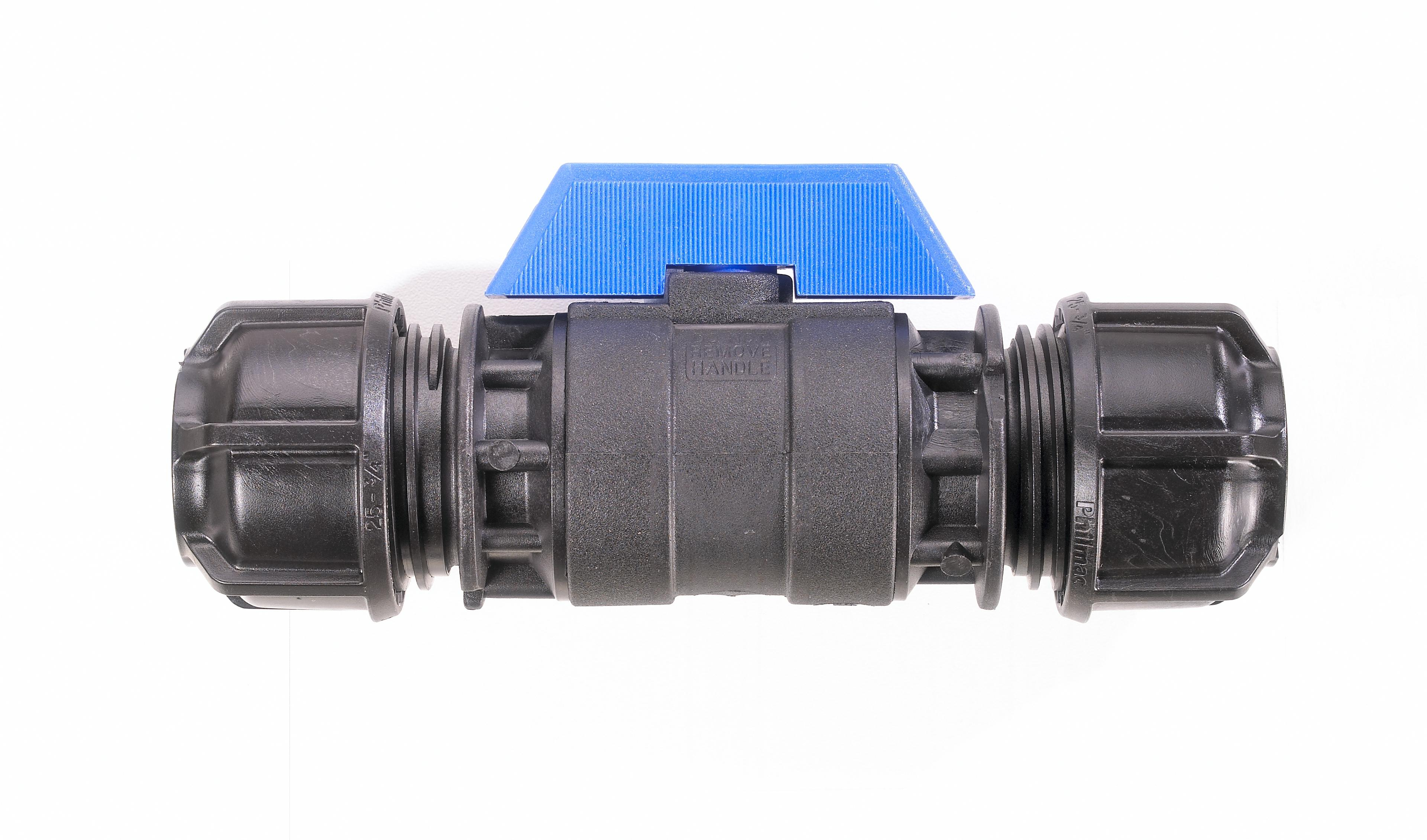Philmac PP Ball Valve POLY x POLY