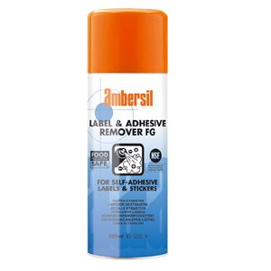 200ml Ambersil Labels and Adhesive Remover FG