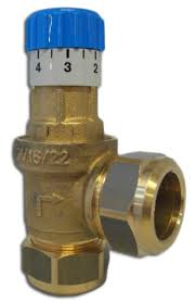 22mm Watts Differential By Pass Relief Valve 0.03 to 0.05bar USVR22 0265324