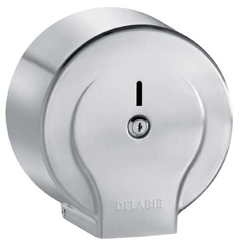 Delabie Jumbo Toilet Paper Dispenser 200m Roll St/St Satin 2902
