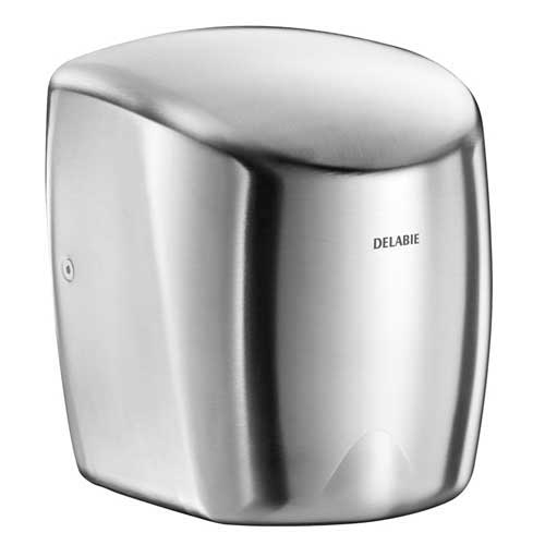 Delabie Highflow Automatic Air Pulse Hand Dryer St/St Satin 510622S