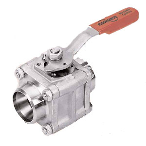 WORCESTER 3/4 Inch 44 Series Carbon Steel Ball Valve BSPT