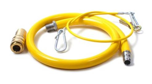 3/4inch bsp x Quick Release GAS CaterQuip flex Hose x 1.5 mtr long