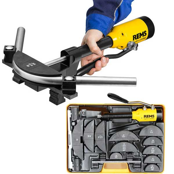 REMS Hydro-Swing Pipe Bender Set 12-15-18-22 mm