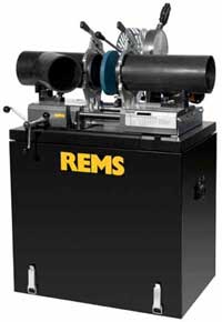 REMS SSM 160 KS Butt Welding Machine For Plastic Pipes