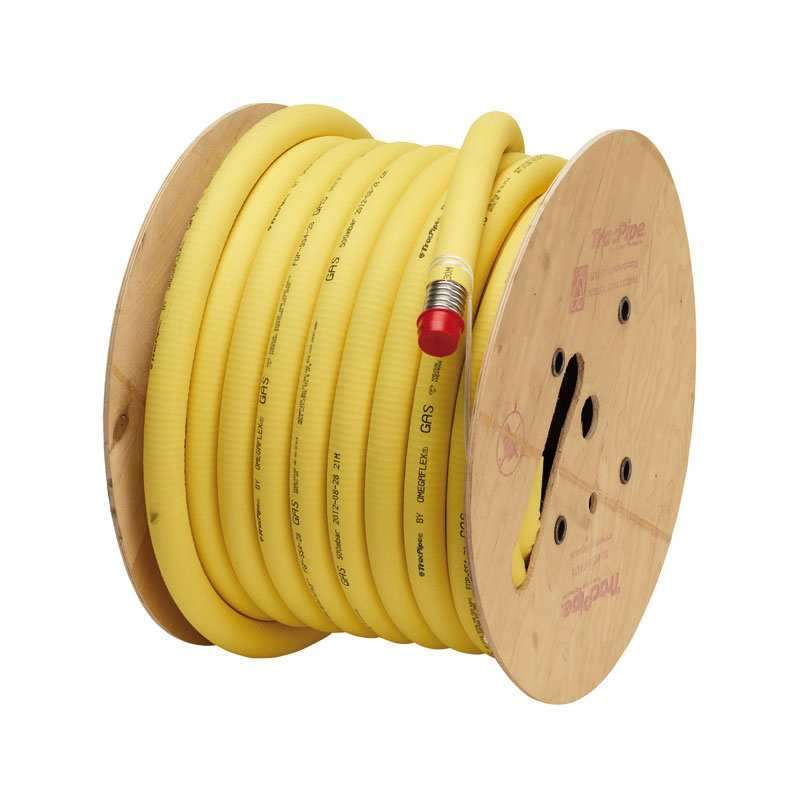 Tracpipe 50mm x 45 metre Coil Flexible Gas Pipe