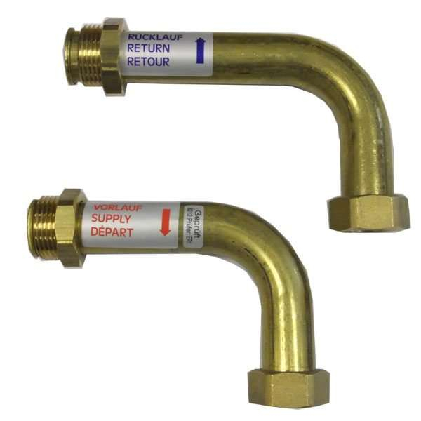 Polypipe Manifold Brass Bends 90 Degrees PB12735