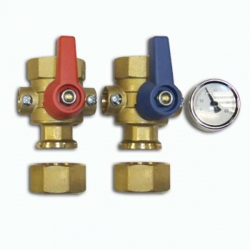 Polypipe 1 Inch Brass Isolation Valves PB01732
