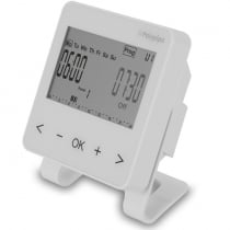 Wired and RF time clocks are used in conjunction with