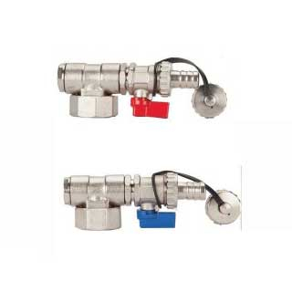 Polypipe Stainless Steel Manifold End Set Pair PB128ES