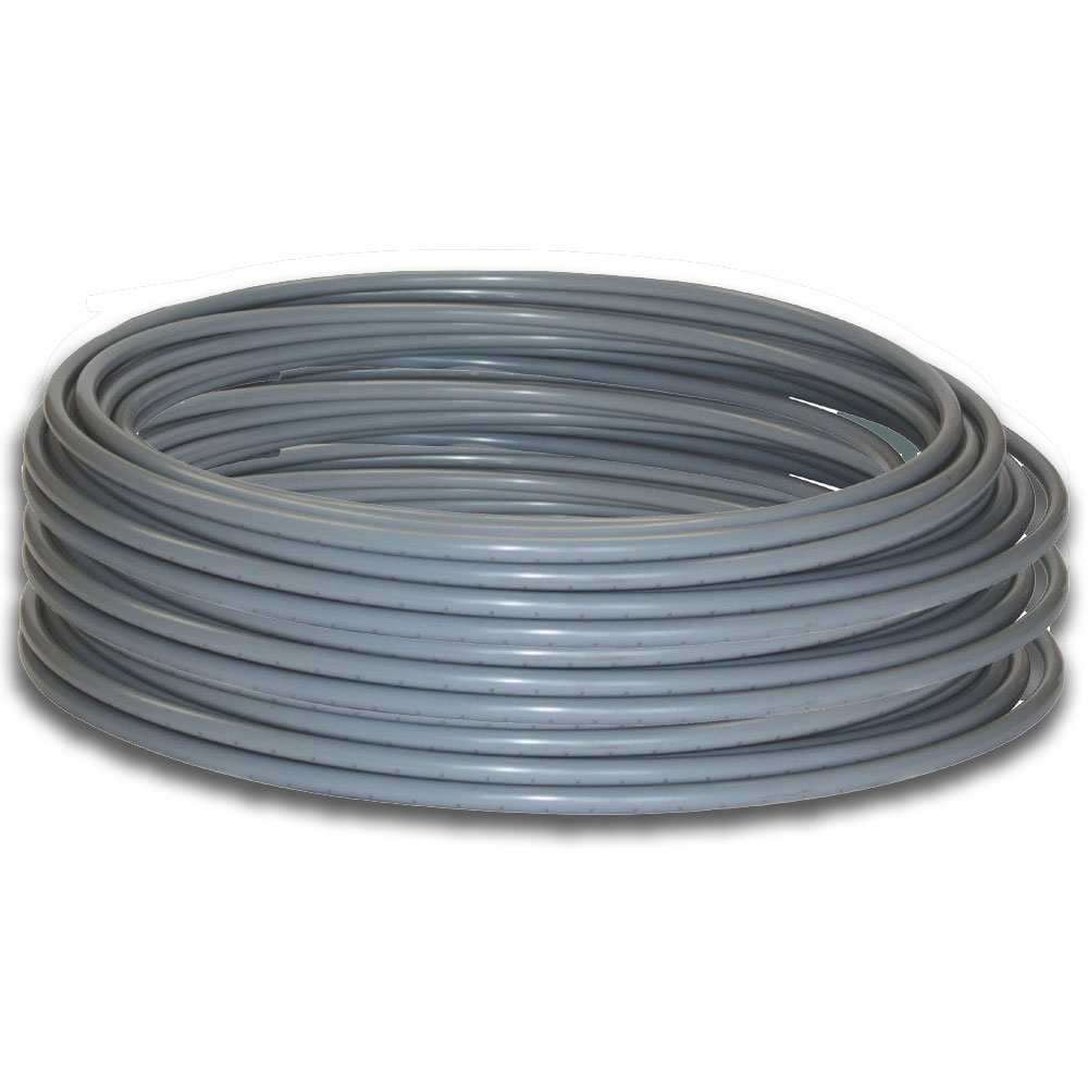 Polypipe 10mm x 50m Coil Grey Barrier Pipe PB5010B
