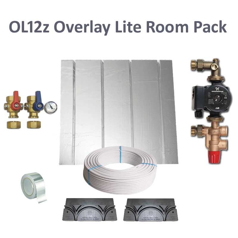 Polyplumb OL12Z Overlay Lite Single Room UFCH Pack