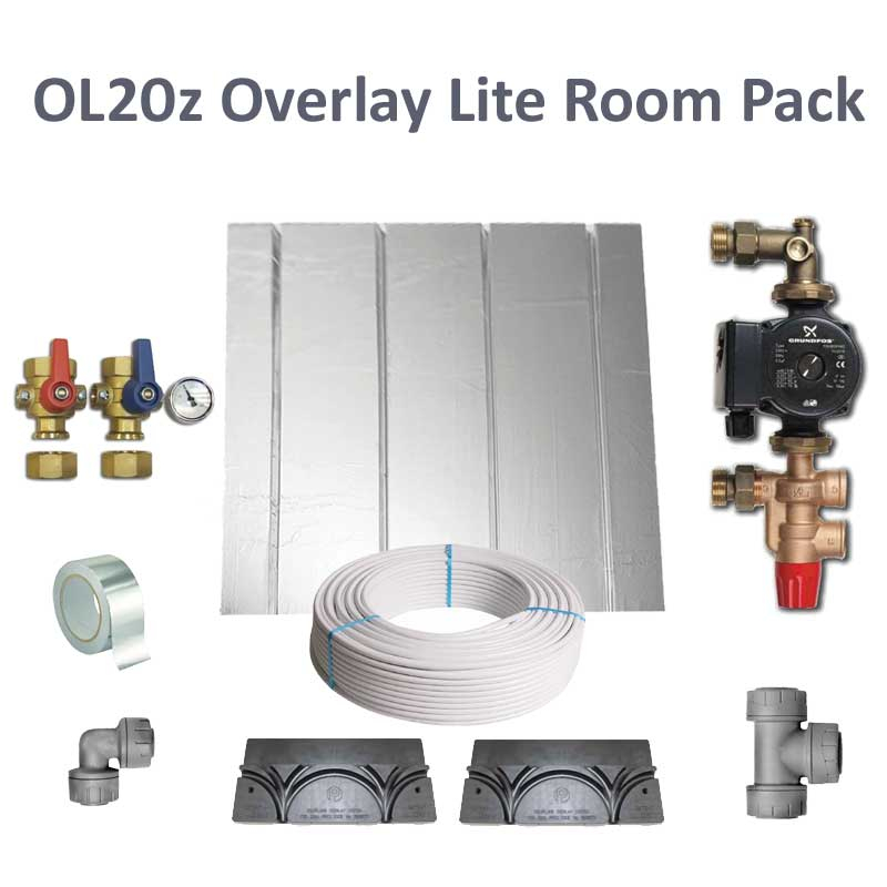 Polyplumb OL20Z Overlay Lite Single Room UFCH Pack