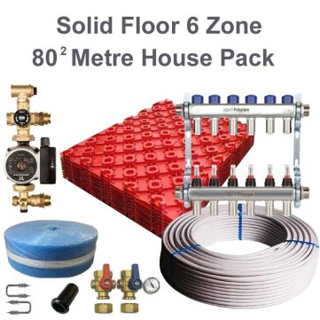 Polyplumb SO806 Solid Underfloor Heating House Pack