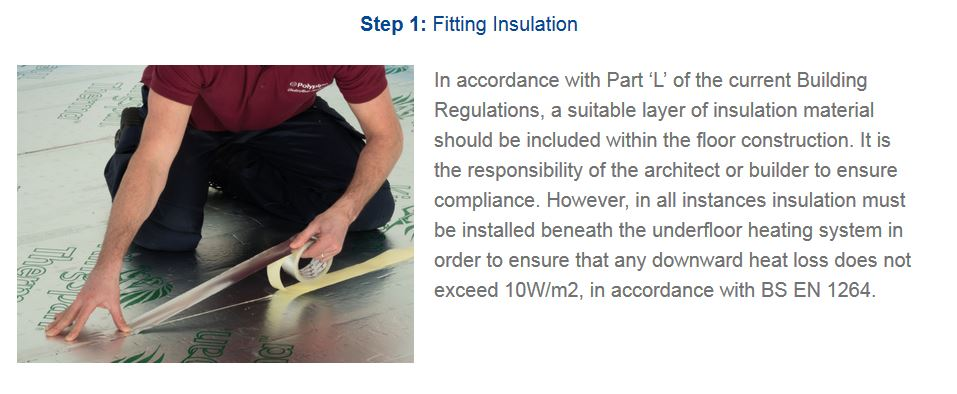 Polyplumb Staple System Installation Step 1