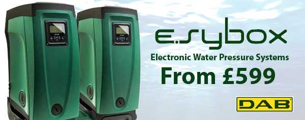 DAB e.sybox Water Pressure System Promotion