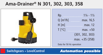 Ama Drainer specification