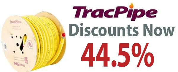 TracPipe Up To 44.5 per cent Discount